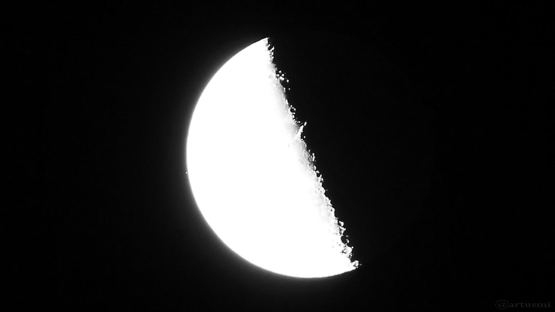 Mond bedeckt 5 Tau - 15. August 2017, 04:49:12 Uhr