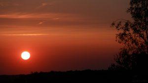 Sonnenuntergang am 29. August 2017 um 19:56 Uhr