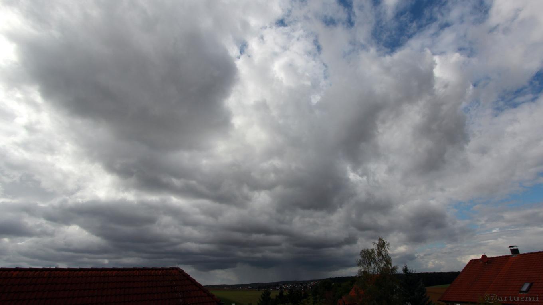 Westhimmel von Eisingen am 12. September 2017 um 14:59 Uhr