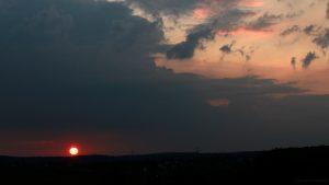 Sonnenuntergang am 23. September 2017 um 19:09 Uhr