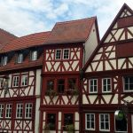Fachwerkhäuser in Ochsenfurt am 20. Oktober 2017 um 14:26 Uhr