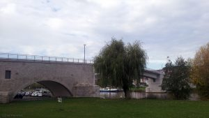 Alte Mainbrücke in Ochsenfurt am 20. Oktober 2017 um 14:33 Uhr
