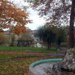 Parkanlage in Ochsenfurt am 20. Oktober 2017 um 14:36 Uhr
