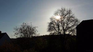 Sonnenstand in Eisingen am 1. November 2017 um 15:02 Uhr