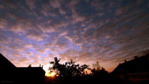 Eisingen Sunset am 3. November 2017 um 16:31 Uhr