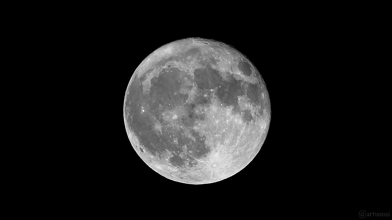 Abnehmender Vollmond am 4. November 2017 um 21:03 Uhr