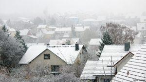 Erster Schnee am 12. November 2017 um 15:16 Uhr