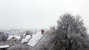 Erster Schnee am 12. November 2017 um 15:17 Uhr