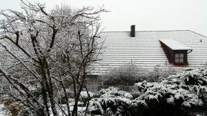 Erster Schnee am 12. November 2017 um 15:19 Uhr