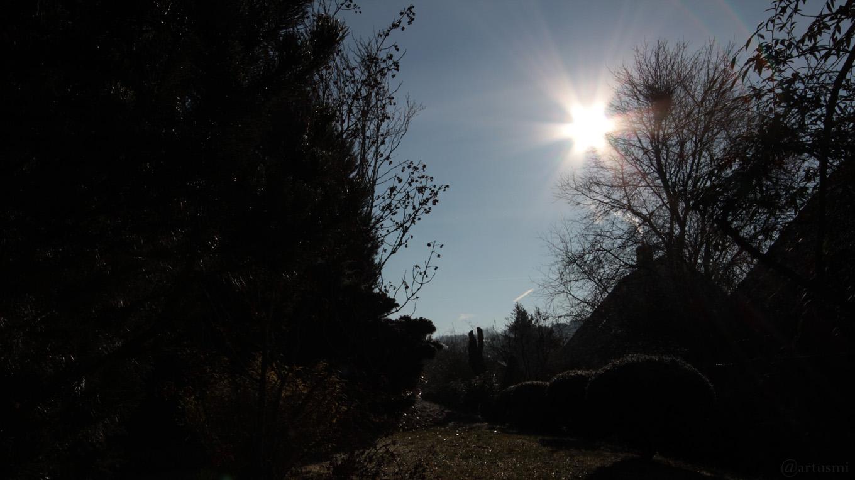 Stand der Sonne am 1. Dezember 2012 um 10:59 Uhr