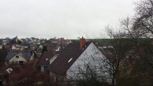 Trüb, bedeckt und leichter Regen - Wetterbild vom 22. Dezember 2017 um 11:02 Uhr Richtung Süden