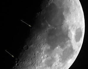 Lunar V und Lunar X am 25. Dezember 2017 um 17:57 Uhr