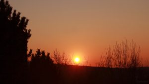 Sonnenuntergang am 22. Februar 2018 um 17:35 Uhr