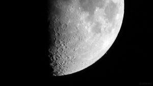 Aldebaran am 23. Februar 2018 um 18:53:48 Uhr nach der Bedeckung durch den Mond
