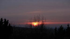Sonnenuntergang am 6. März 2018 um 17:57 Uhr