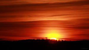 Sonnenuntergang am 21. März 2018 um 18:31 Uhr