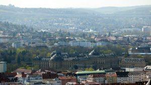 Würzburg: Blick auf die Residenz