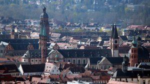 Würzburg: Neubaukirche - Dom St. Kilian - Neumünster