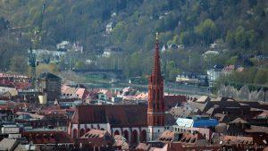 Würzburg: Blick auf die Marienkapelle