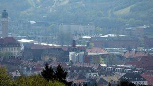 Würzburg: Blick auf die katholische Kapelle am Universitätsklinikum Würzburg