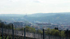 Würzburg: Blick in Richtung Müllheizkraftwerk
