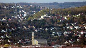 Würzburg: Blick auf das Hotel Wittelsbacher Höh