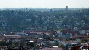 Würzburg: Blick in Richtung Frauenland