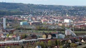 Würzburg: Blick in die Zellerau