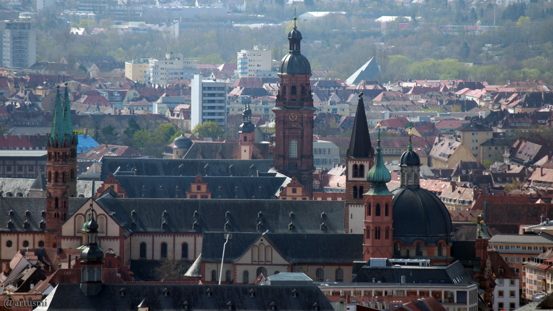 75. Jahrestag der Zerstörung Würzburgs