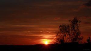 Sonnenuntergang am 17. April 2018 um 20:08 Uhr