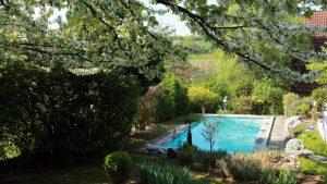 Unser Garten am 21. April 2018 um 10:38 Uhr