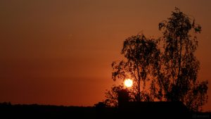 Sonnenuntergang am 4. Mai 2018 um 20:23 Uhr