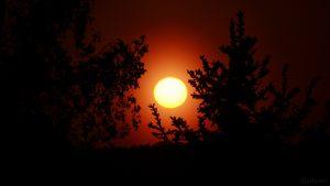Sonnenuntergang am 8. Mai 2018 um 20:35 Uhr