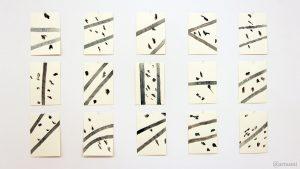 Erbachshof Art Project - Bilder von Mimmo Roselli im Atelier