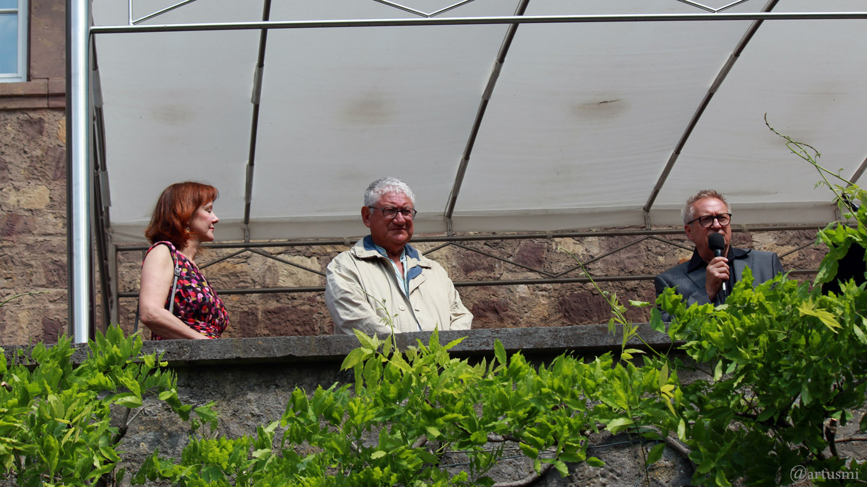 Erbachshof Art Project - Sonja Edle von Hoeßle, Mimmo Roselli und Herbert Mehler