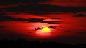 Sonnenuntergang am 25. Mai 2018 um 21:02 Uhr