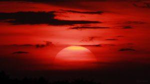 Sonnenuntergang am 25. Mai 2018 um 21:03 Uhr