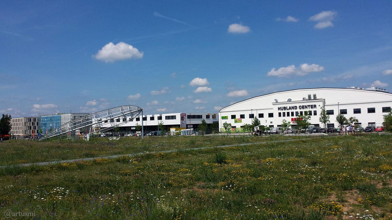 Gartenamt begrünt ehemaligen Mall-Standort im Hubland