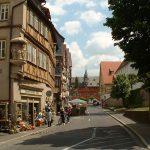 Hauptstraße in Ochsenfurt am Main im Lkr. Würzburg