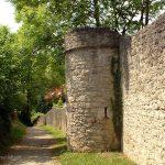 Ringmauer in Goßmannsdorf am Main