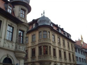 Patrizierhäuser in Marktbreit im Lkr. Kitzingen