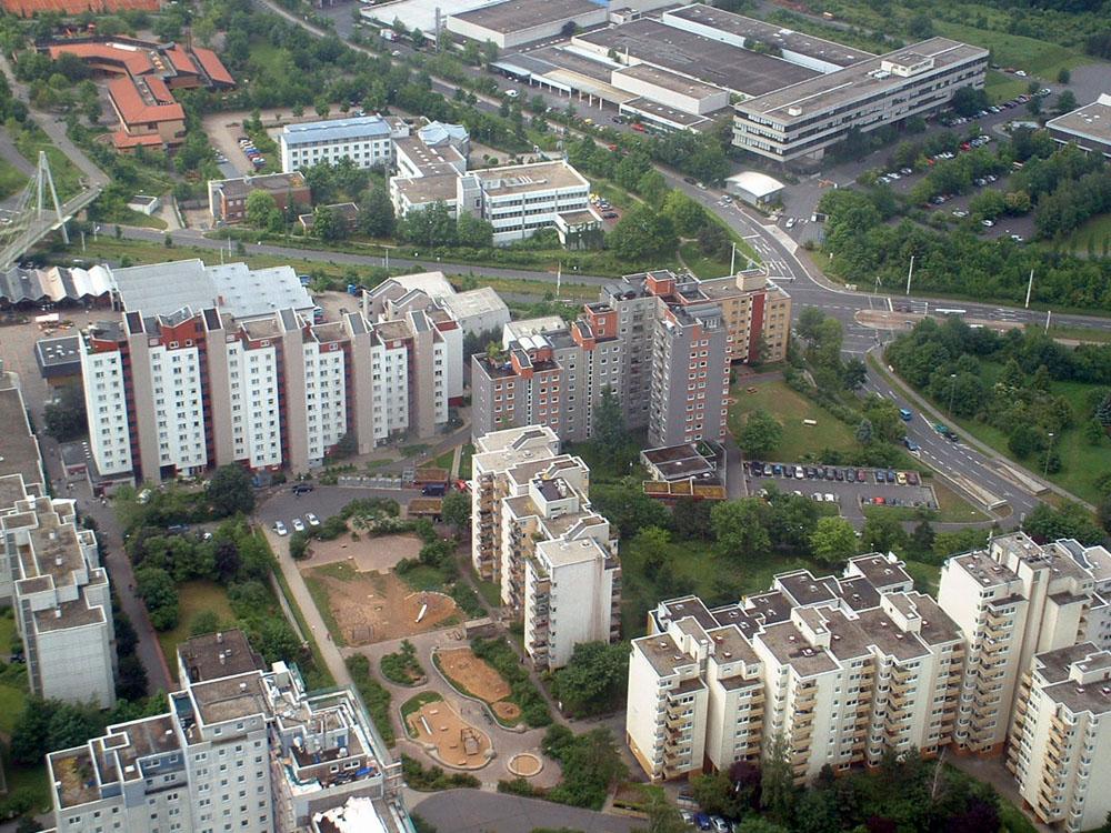 50 Jahre Stadtteil Heuchelhof in Würzburg