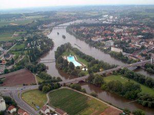 Der Main bei Kitzingen