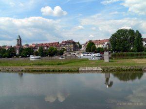 Der Main in Schweinfurt