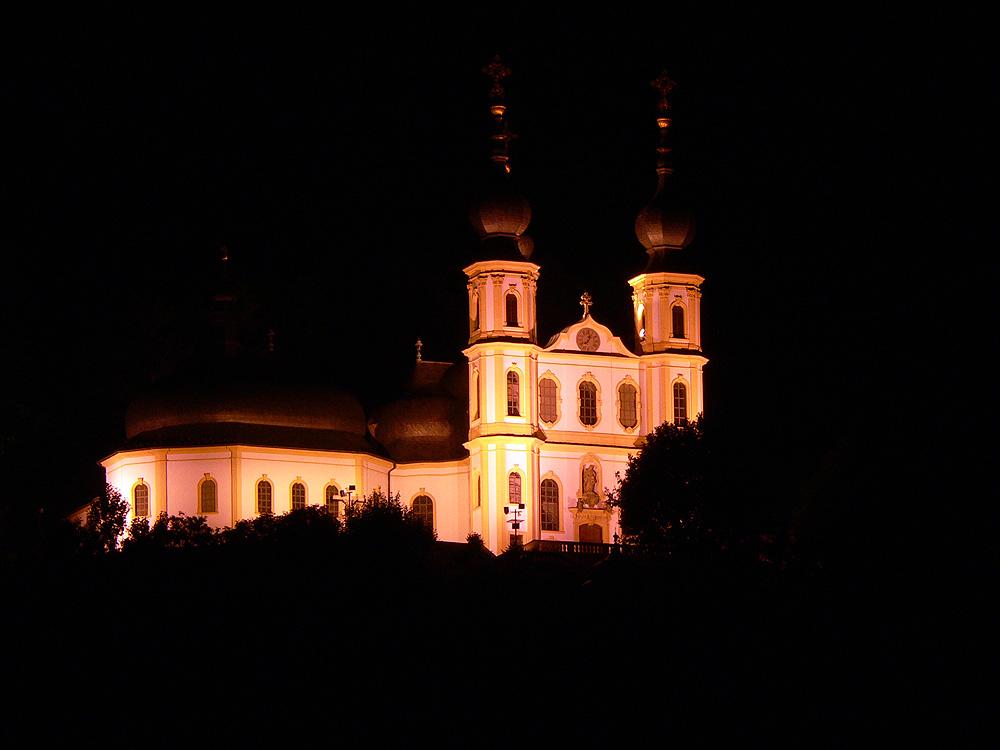 Wallfahrtskirche Mariä Heimsuchung (Käppele) auf dem Nikolausberg in Würzburg am Main