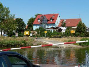 Fähre bei Fahr am Main im Lkr. Kitzingen