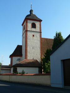 Pfarrkirche im Volkacher Stadtteil Astheim
