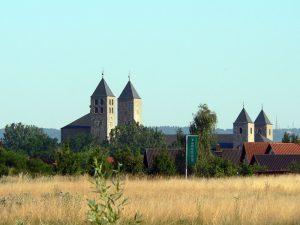 Abtei Münsterschwarzach im Lkr. Kitzingen