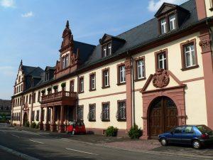 Schloss in Kreuzwertheim im Lkr. Main-Spessart