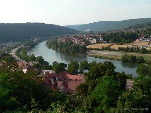 Blick von Wertheim nach Kreuzwertheim